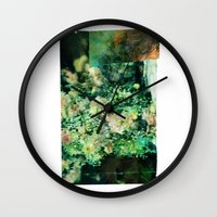 Here Somewhere Wall Clock
