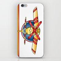 Airplane Print iPhone & iPod Skin