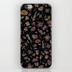 Botanical Study- Dark Colorway iPhone & iPod Skin