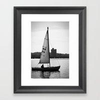 Sailboat Framed Art Print