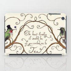 Oh How Lovely it Would Be iPad Case