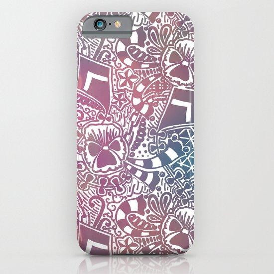 Theta Print-Pastel iPhone & iPod Case