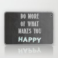 Quote, Inspiration Chalk… Laptop & iPad Skin