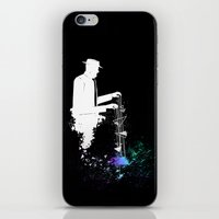 Mr.Universe iPhone & iPod Skin