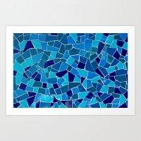 'Mosaic Tile' Art Print