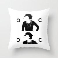 CC Deconstruct Throw Pillow