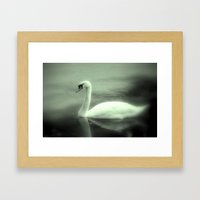Schwan Framed Art Print