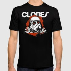 Clones Brigade Black Mens Fitted Tee SMALL