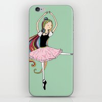 Colorful Ballerina iPhone & iPod Skin