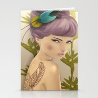 Paradise Bird Stationery Cards