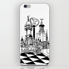 STHLM Silhouettes iPhone & iPod Skin