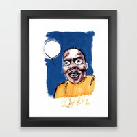 phife with the roughneck business Framed Art Print