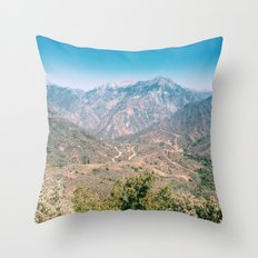 Kings Canyon Throw Pillow