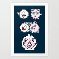Jigglyboo Fusion Art Print