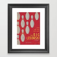 The Big Lebowski - Movie… Framed Art Print