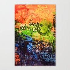 Legendary Emcees Canvas Print