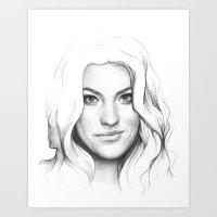 Debra Morgan (Jennifer C… Art Print