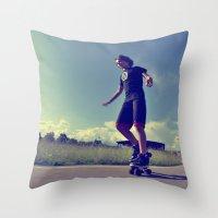 Roller  Throw Pillow
