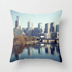 Philadelphia II Throw Pillow