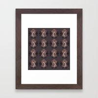NUTURE Pattern Framed Art Print