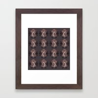 NUTURE pattern Framed Art Print