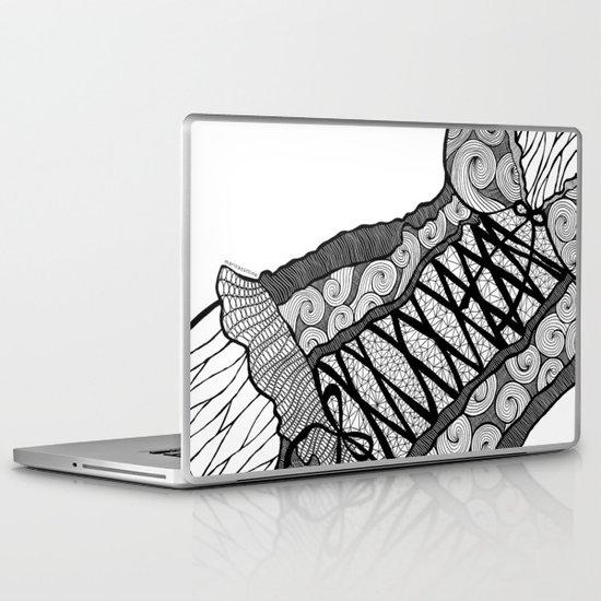 La femme n.5 Laptop & iPad Skin