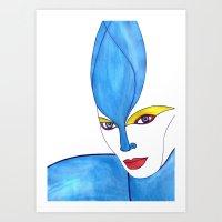 Shaima (previous age) Art Print