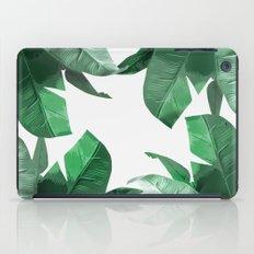 Tropical Palm Print iPad Case