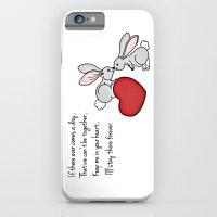 Snuggle Bunnies iPhone 6 Slim Case