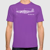 North American P51 Musta… Mens Fitted Tee Ultraviolet SMALL