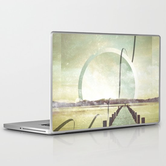 Southern Lights Laptop & iPad Skin