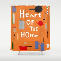 Heart Of The Home - Kitc… Shower Curtain