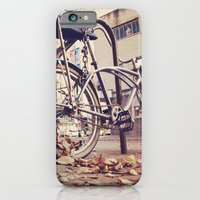 iPhone Cases featuring Bicycle by iD70my