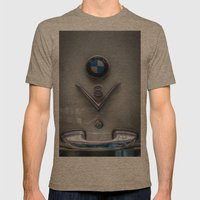 V8 BMW Mens Fitted Tee Tri-Coffee SMALL