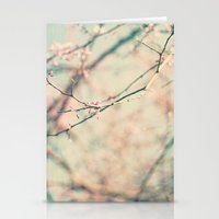 spring #1 (pinky) Stationery Cards