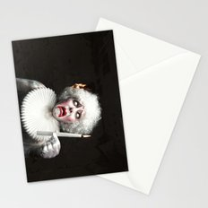 Clown VS Fire Stationery Cards