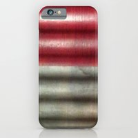 iPhone Cases featuring Industrial Wall by Tru.My.Iz
