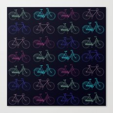 Vintage Bicycles Canvas Print