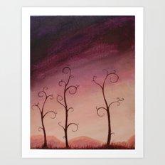 The Solitude Art Print
