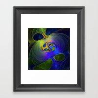 Funny Colours Framed Art Print