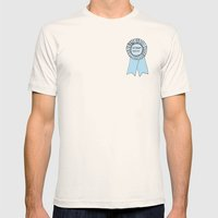 INTERNET PERSON Mens Fitted Tee Natural SMALL