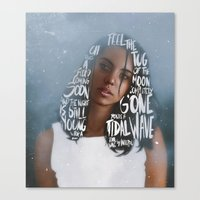 Songs XIII. Canvas Print