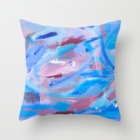 Winter Somewhere Throw Pillow