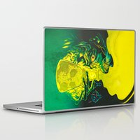 science Laptop & iPad Skins featuring MAD SCIENCE! by BeastWreck