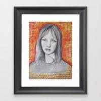 Jane Birkin Framed Art Print
