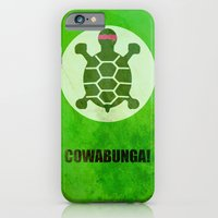 iPhone & iPod Case featuring TMNT (Super Minimalist series) by Itomi Bhaa