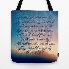 Love of God Tote Bag