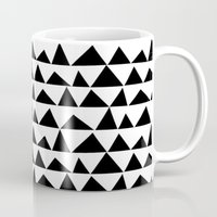 Playful Triangles Mug