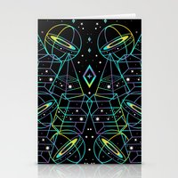 Hidden Galaxies Stationery Cards