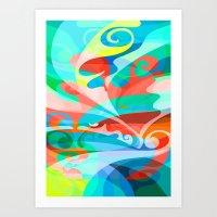 Melo Art Print